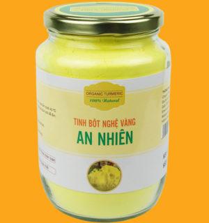 Tinh bột nghệ vàng nguyên chất An Nhiên - 500g
